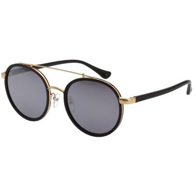Calvin Klein- 韓版系列 水銀面 太陽眼鏡(黑配金)CK1225SK