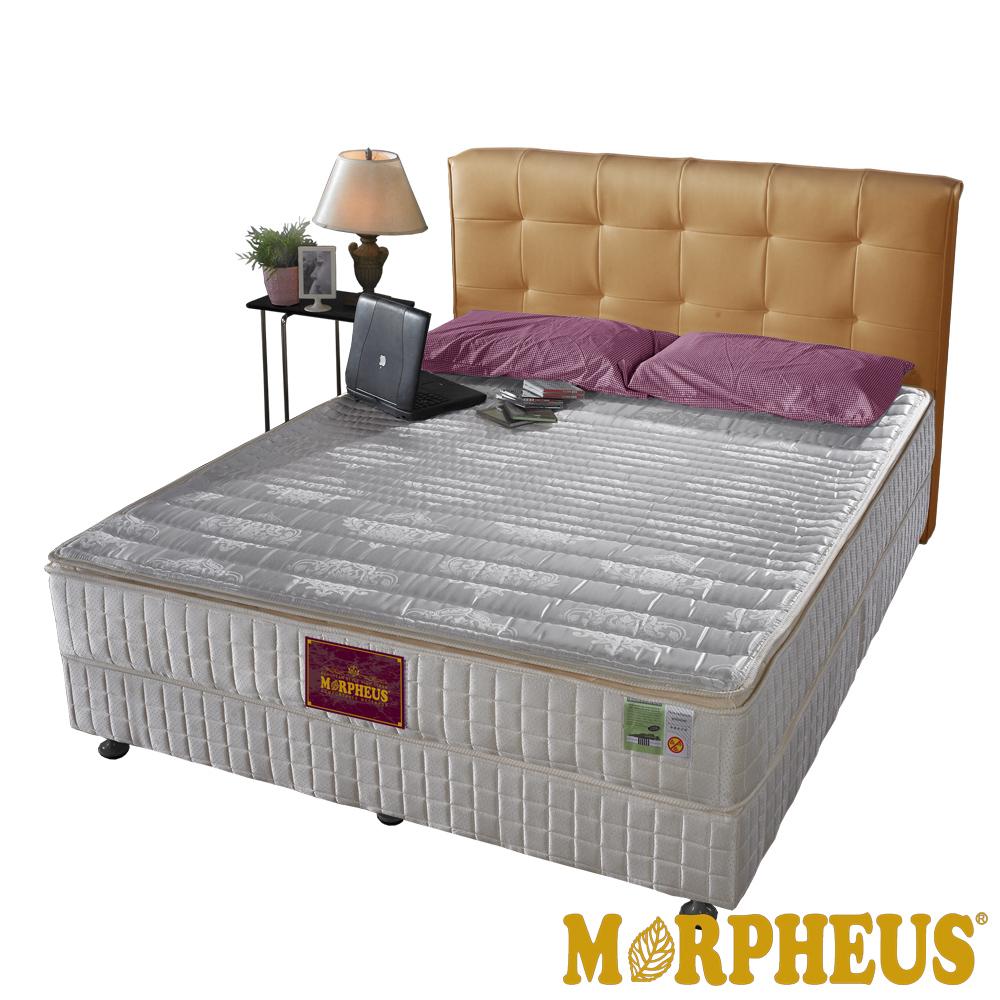 夢菲思 三線蓆面+布面冬夏兩用硬式彈簧床墊-單人3.5尺