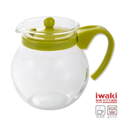 iwaki 耐熱玻璃茶壺640ml