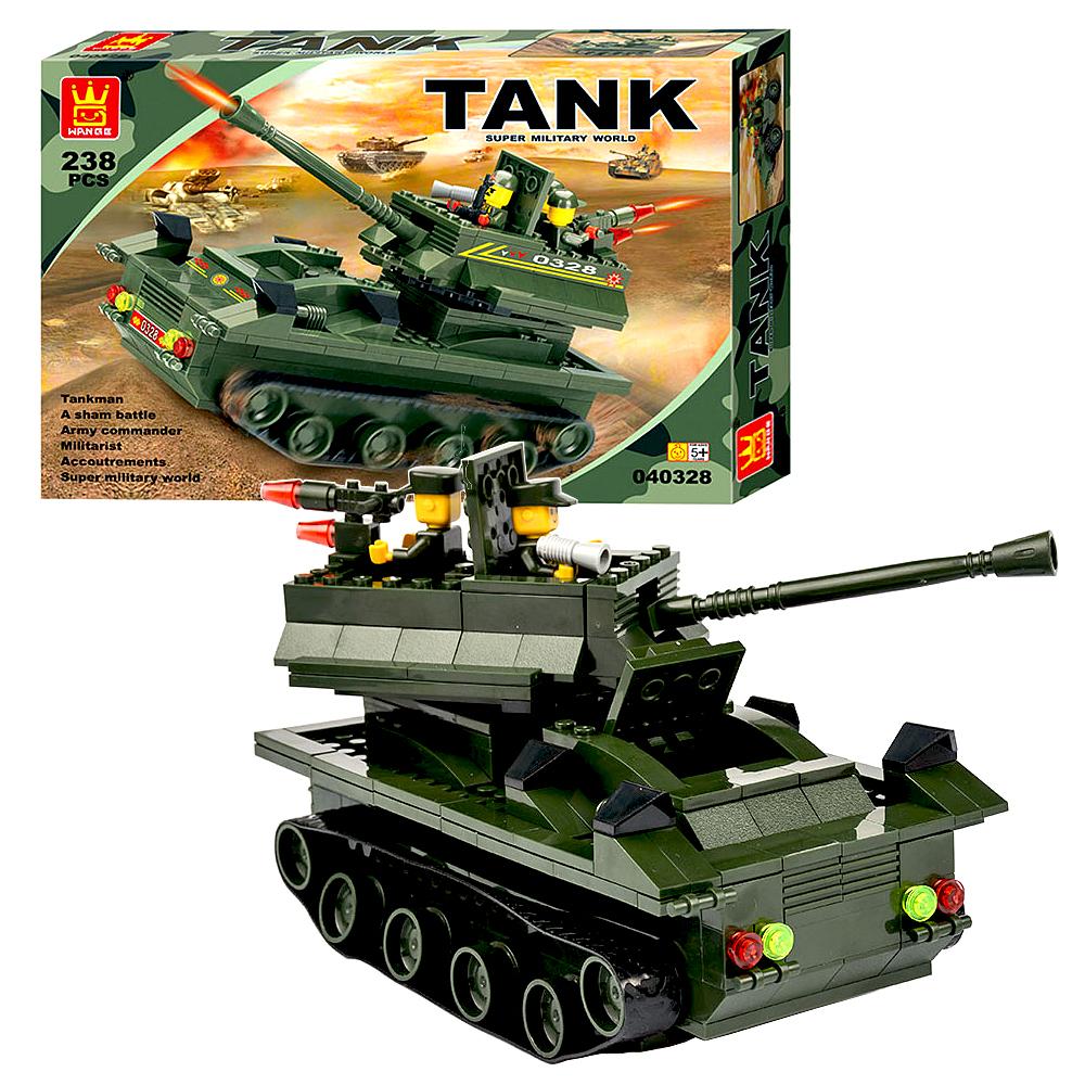 《Tank World》益智組裝DIY坦克造型積木套組 238pcs