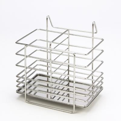 HIKARI日光生活  不鏽鋼筷匙收納架 / 15.3X12.3X15.7CM