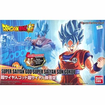 BANDAI 組裝模型 七龍珠超 超級賽亞人之神超級賽亞人孫悟空