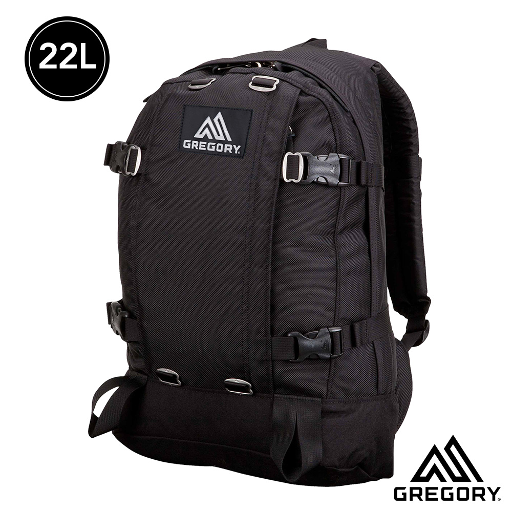 Gregory 22L ALL DAY後背包 黑色子彈