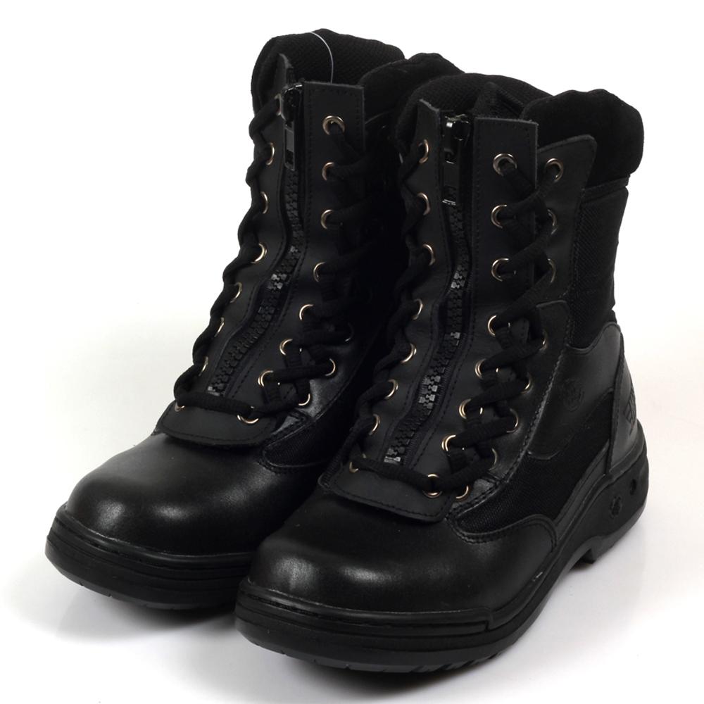 Kai Shin 高筒安全工作鞋 黑色 M-PLA939A01
