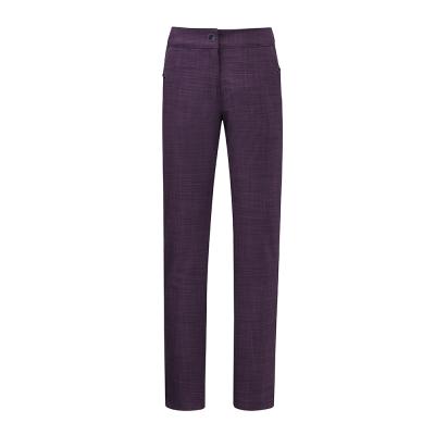 【ATUNAS 歐都納】女款防風SoftShell刷毛保暖長褲A-PA1733W深紫