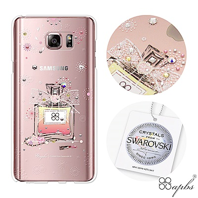 apbs Samsung Note系列 施華洛世奇彩鑽手機殼-維也納馨香