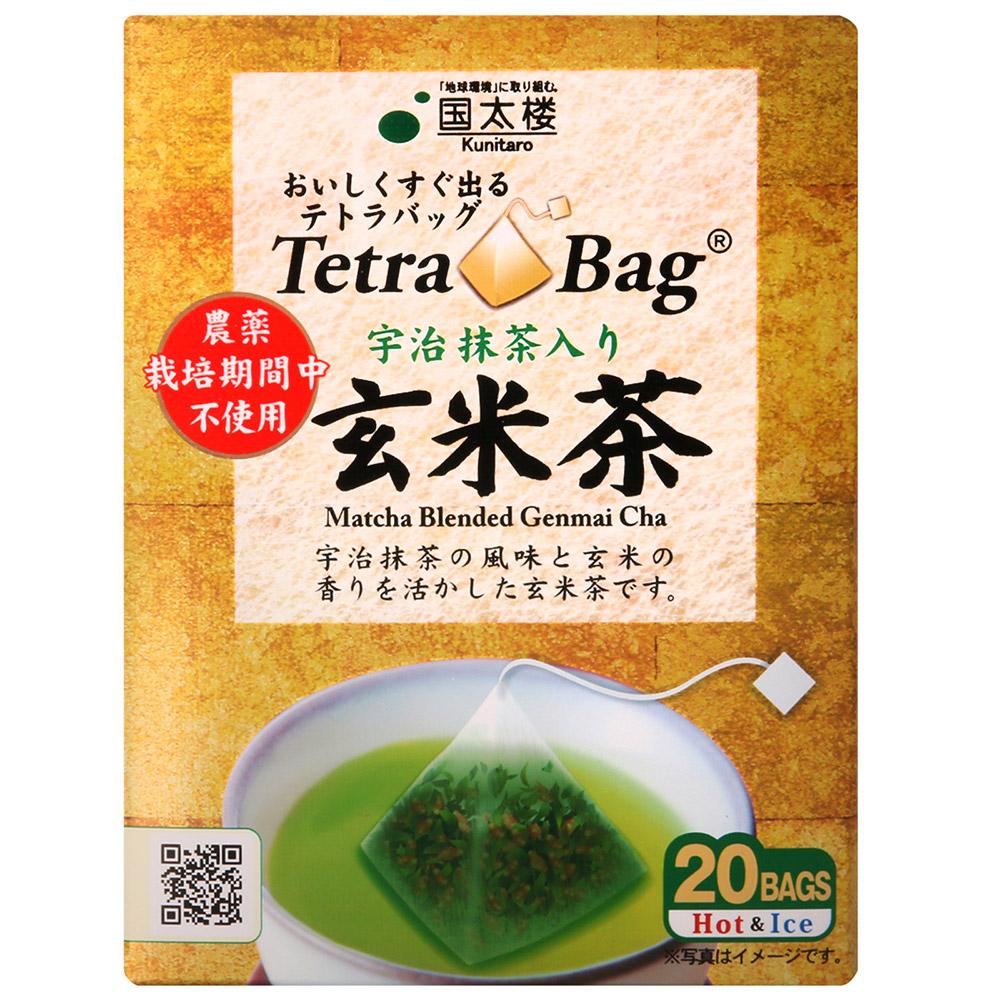 國太樓 玄米茶-金(40g)