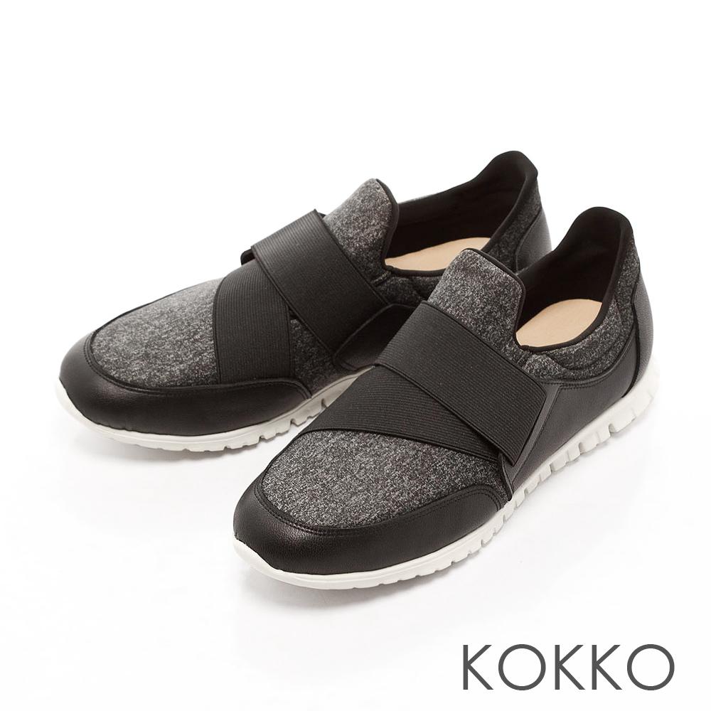 KOKKO -都會運動風輕量休閒鞋 - 灰