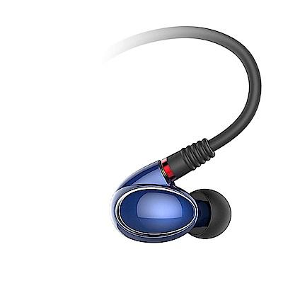 FiiO FH 1 美國樓氏動鐵+動圈混合雙單元MMCX可換線入耳式線控耳機(藍)