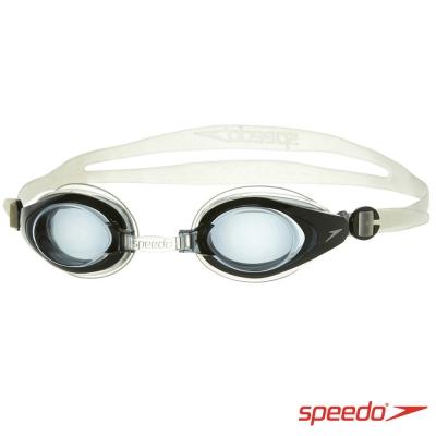 SPEEDO 成人 度數泳鏡Mariner黑/灰(衛)