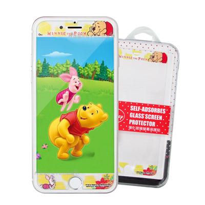 迪士尼iPhone 8 Plus/7 Plus/i6s+ 花花系列全隱形玻璃貼(...