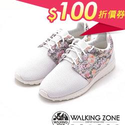花漾蕾絲網布運動慢跑鞋
