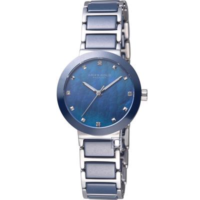 Aries Gold 雅力士 魅惑系列PERSIA時尚陶瓷腕錶-藍/29mm