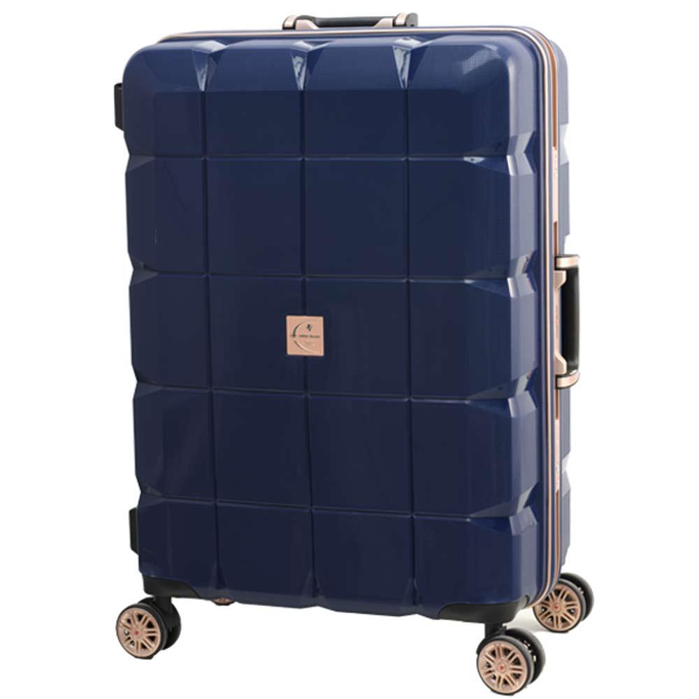 日本 LEGEND WALKER 6023-70-29吋 PP鋁框輕量行李箱 深河藍