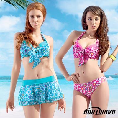 Heatwave 熱浪  泳裝  比基尼三件式-甜美豹爆