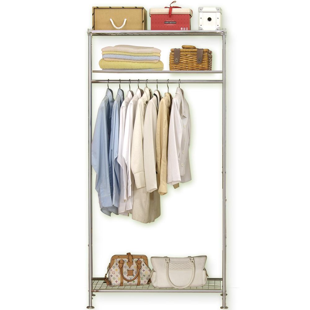 巴塞隆納─WP3型90公分衣櫥架 (無防塵)