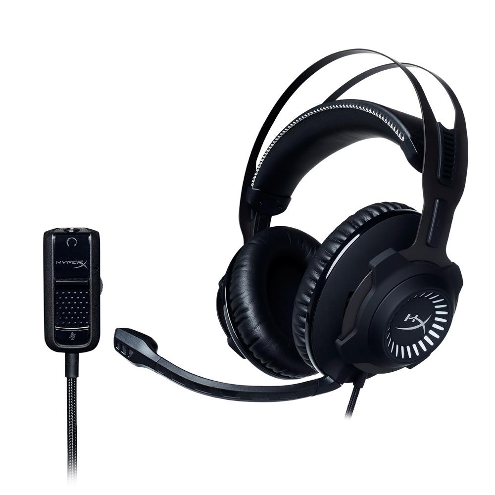 HyperX CLOUD Revolver 金屬灰 電競耳機