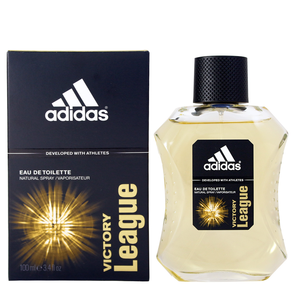 Adidas Victory League愛迪達卓越自信男性運動淡香水100ml