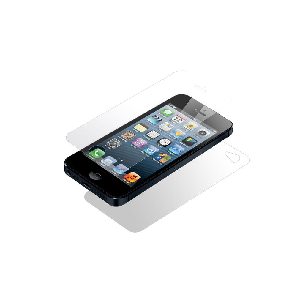 iPhone4S 高清超透水晶螢幕保護貼-正反面