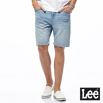 Lee 淺色牛仔短褲-男款