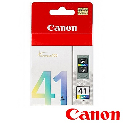 Canon CL-41 原廠彩色墨水匣