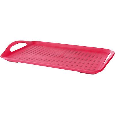 EXCELSA 點點止滑托盤(紅)