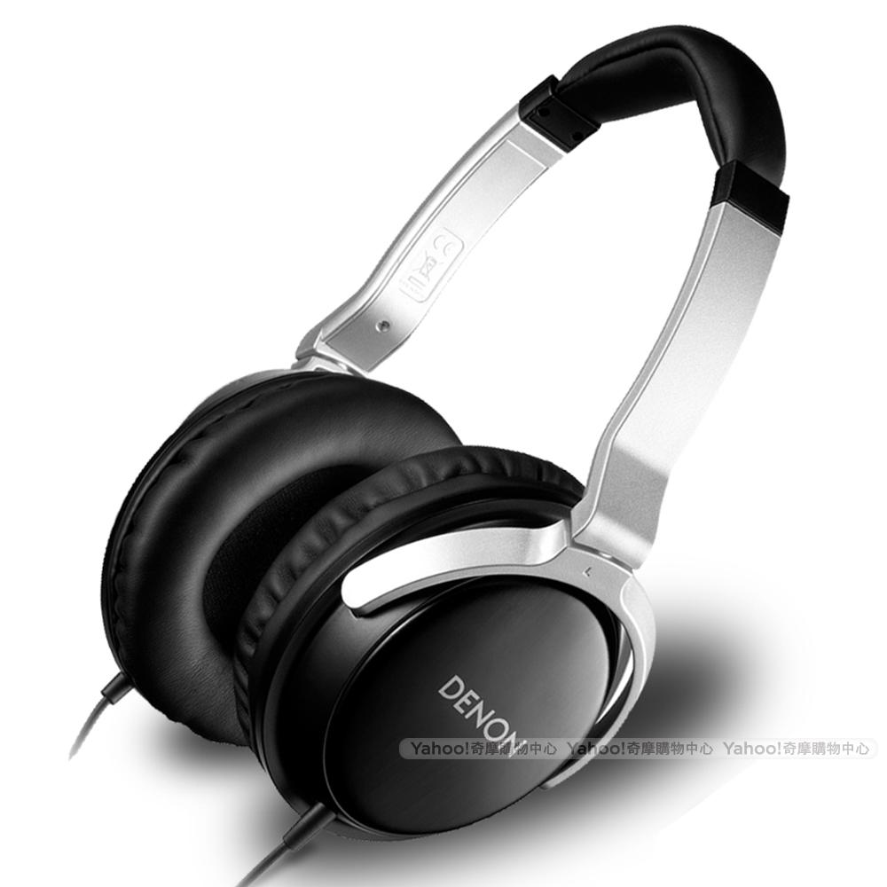 DENON 耳機 AH-D510 絲緞黑 耳罩耳機