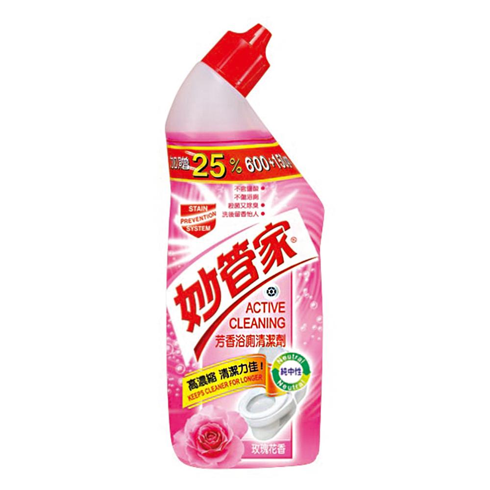 妙管家-芳香浴廁清潔劑(玫瑰花香)750g