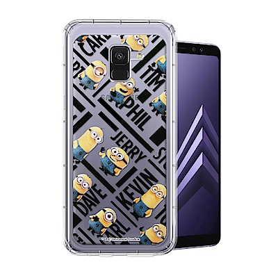 Minions小小兵 Samsung Galaxy A8(2018) 空壓手機殼...