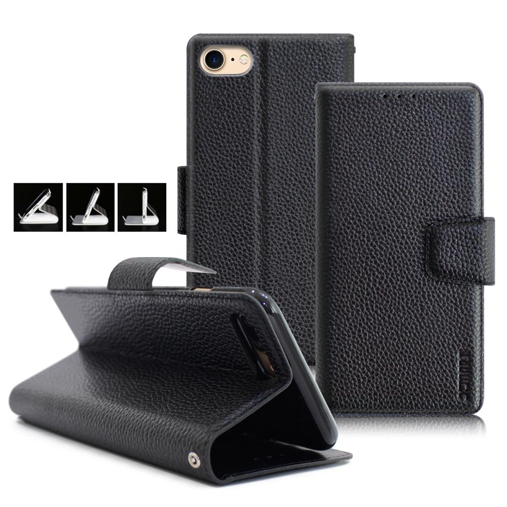 XM iPhone SE2/iPhone 8 / iPhone 7 4.7吋 品味時尚牛皮支架皮套