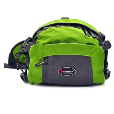 迪伯特 DIBOTE 多功能戶外休閒腰包/背包/旅遊包/臀包/相機包(綠)