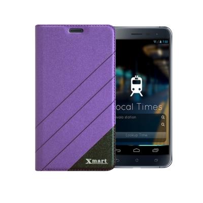 X mart ASUS ZenFone 3 5.5吋完美拼色磁扣皮套