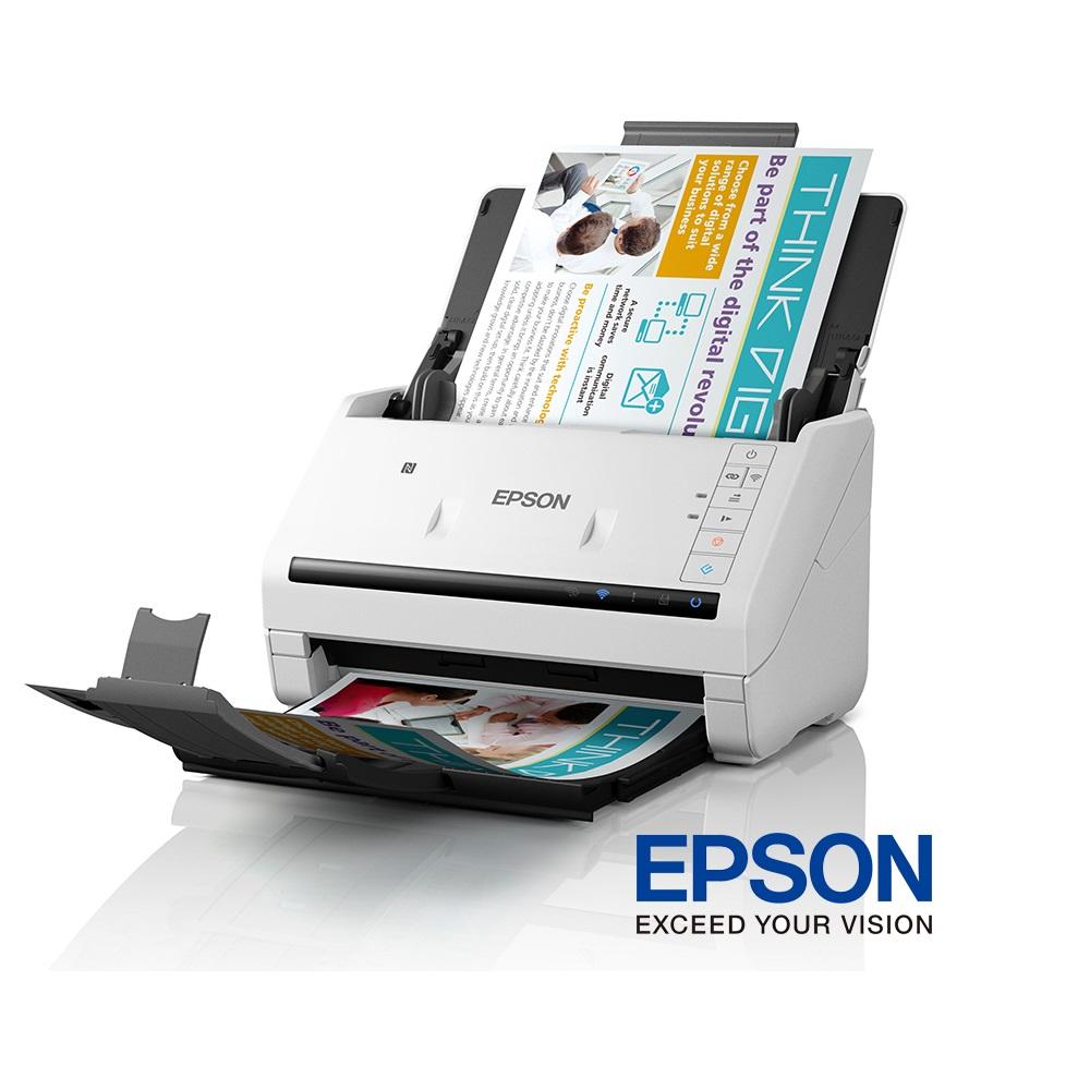 EPSON 高速文件無線掃描器 DS-570W @ Y!購物
