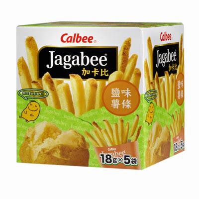 Calbee-薯條先生-鹽味-90gx12盒