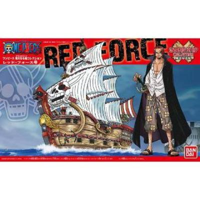 【BANDAI】代理版 航海王組合模型/偉大之船 紅色勢力號(紅髮傑克海賊團)