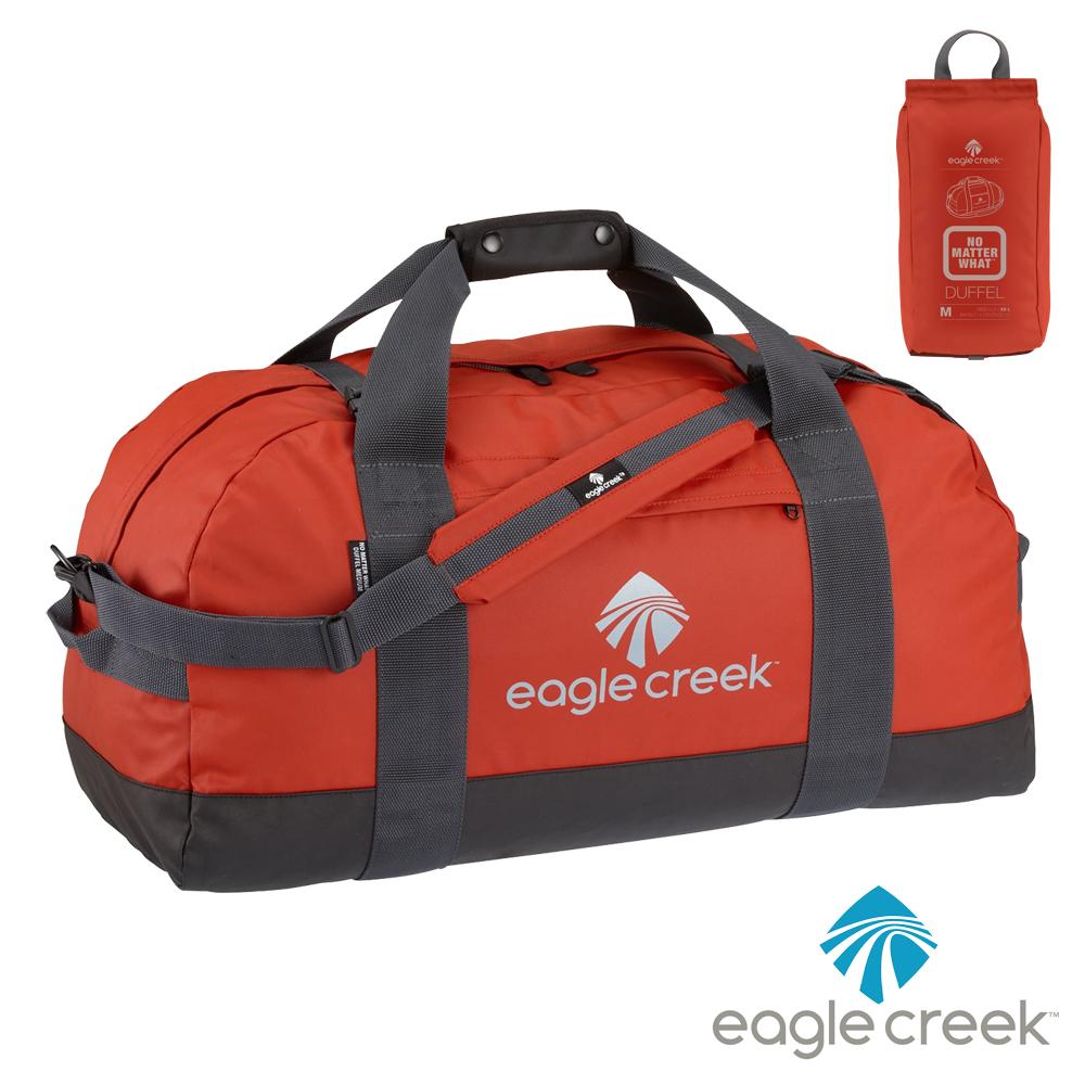 美國Eagle Creek NMW防水摺疊旅行袋 M(橘)