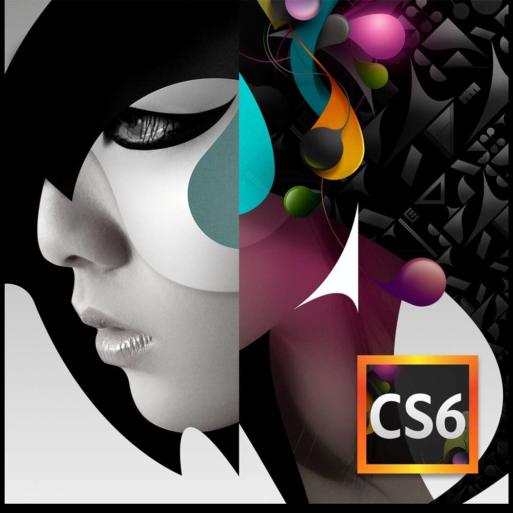 (硬)Adobe CS6 Design Standard 中文盒裝版