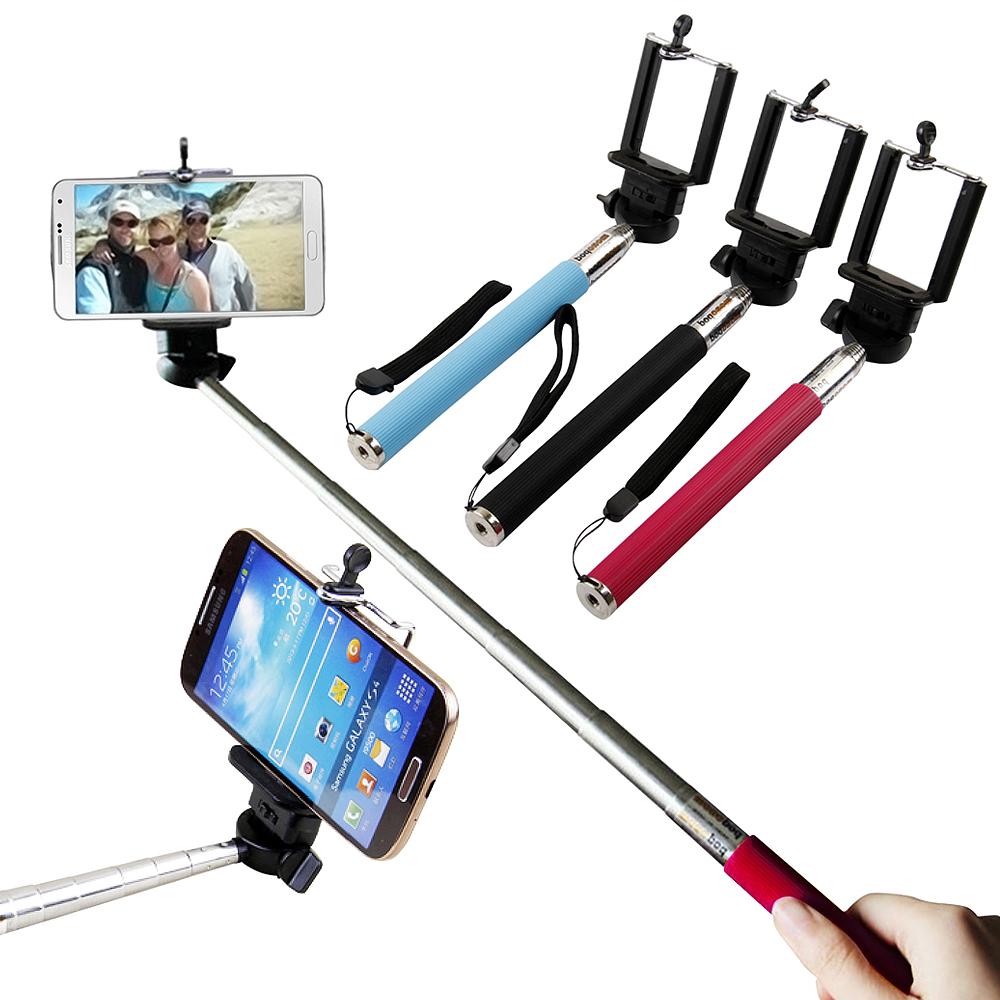 魔法 手機/相機可用自拍神器伸縮自拍架 (送手機托架)