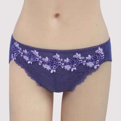 瑪登瑪朵 無鋼圈so Vbra  低腰三角棉內褲(萃煉紫)