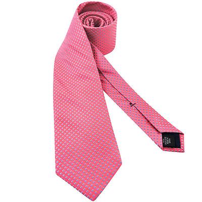 MICHAEL KORS 紅色菱格紋造型領帶