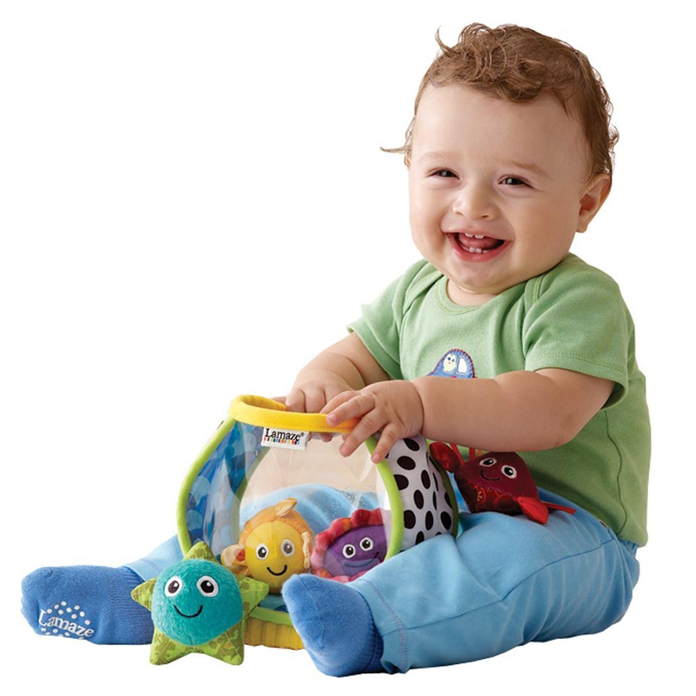 Lamaze拉梅茲嬰幼兒玩具 - 我的第一個小魚缸