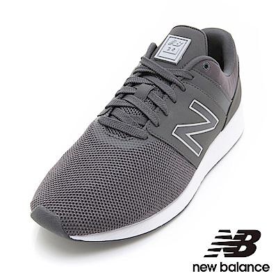 New Balance24運動鞋男鞋 MRL24TF墨灰