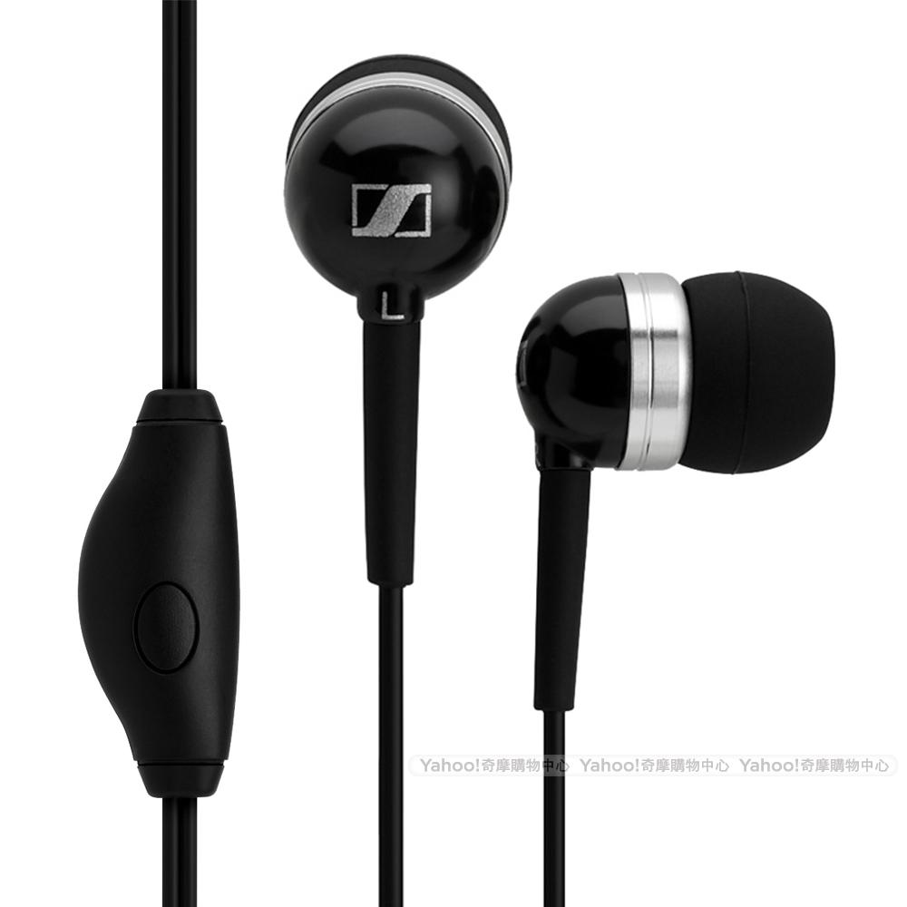 SENNHEISER 聲海 MM50 iPhone 專用耳機 黑色版