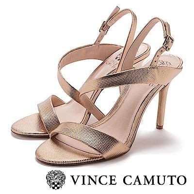 Vince Camuto 美型曲線優雅高跟涼鞋-金銅