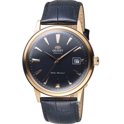 ORIENT 東方錶 DATE II 日期顯示機械錶-玫瑰金色/40.5mm