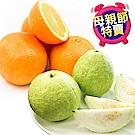 【愛上水果】芭樂柳丁孝親組 5斤裝(買5斤送5斤/共10斤)