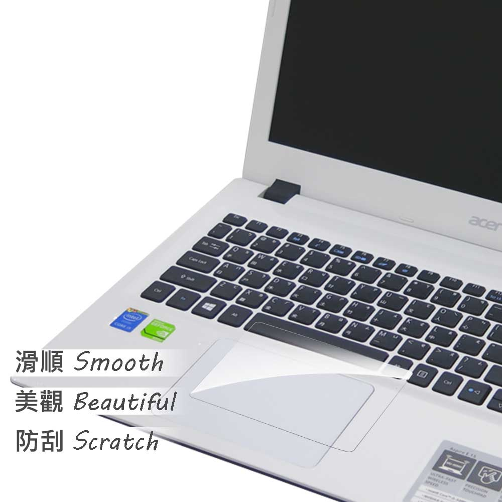EZstick ACER Aspire E5-574 G 專用TOUCH PAD抗刮保護貼