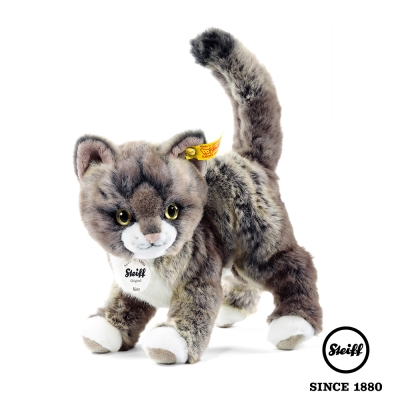 STEIFF德國金耳釦泰迪熊 小貓咪 Kitty Cat(動物王國)