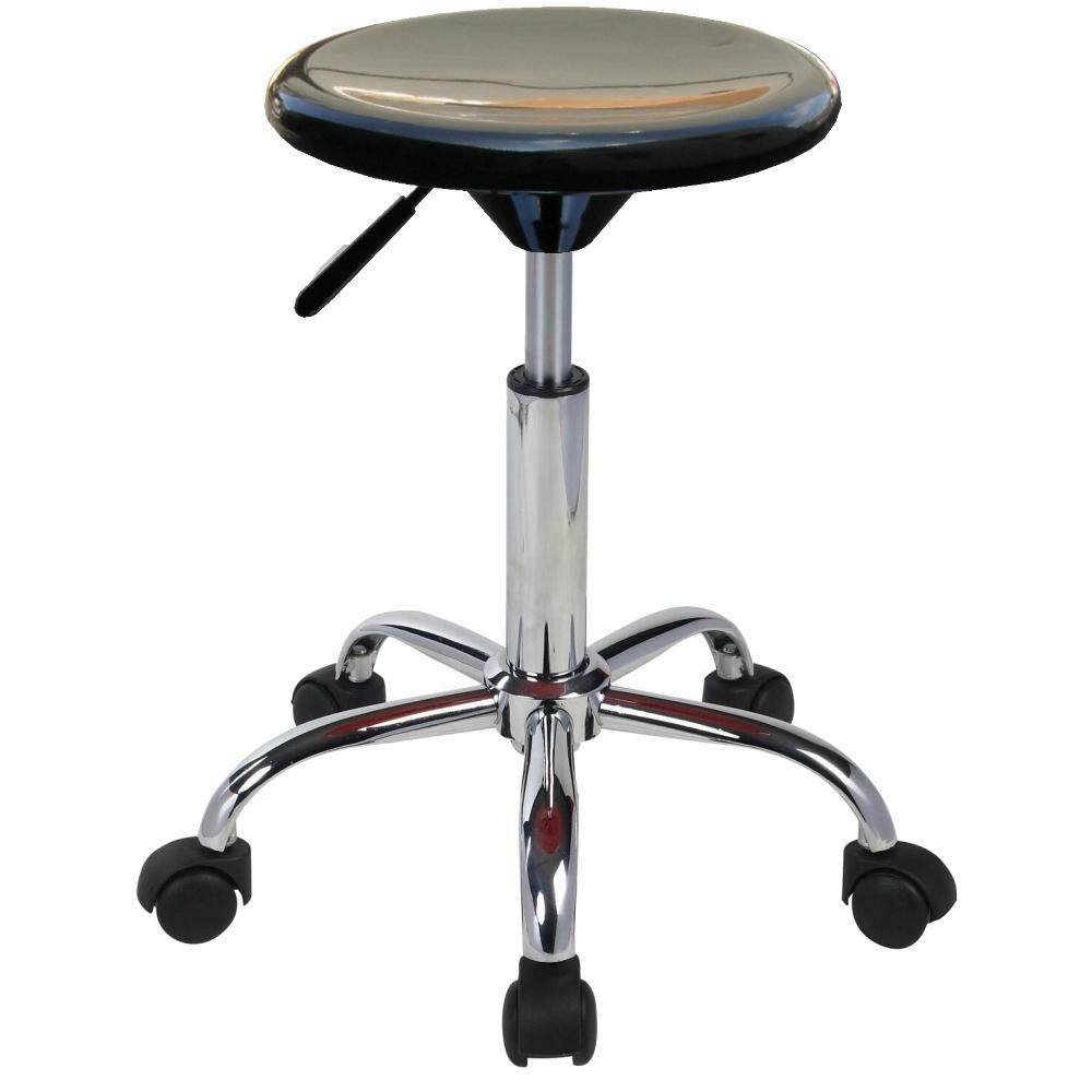 E-Style 吧台椅/工作椅/吧檯椅(高級鍍鉻金屬氣壓棒五爪腳)-1入組(三色)
