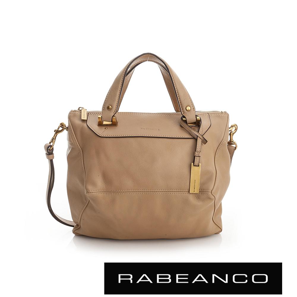 RABEANCO OL時尚粉領系列菱形包(小) - 杏